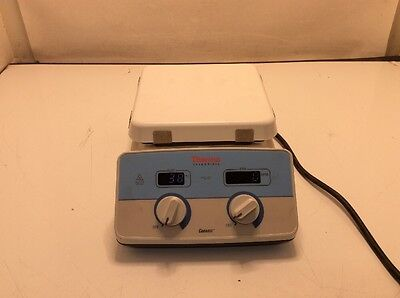 "Thermo Scientific Hot Plate Magnetic Stirrer Cimarec+ SP88850100 7""x7"" job905"