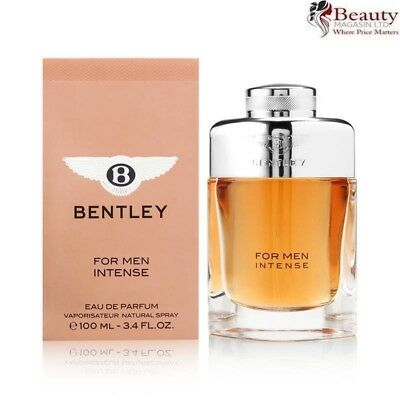 Bentley For Men Intense Eau de Parfum 100ml Spray Him Homme - Mens EDP Perfume