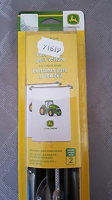 2 pack car shades The first years John Deere