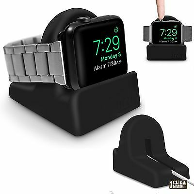 Apple Watch Charging Dock Station Charger Stand Holder Non-Slip Base 38 / 42 mm