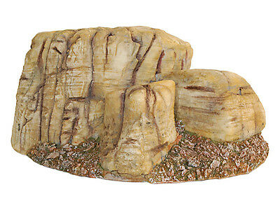 Rock Scenery Decoration Ornament for Reptile Vivarium Aquarium Fish Tank