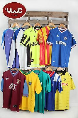 VINTAGE WHOLESALE *NEW IN STOCK* Football Shirts 00's 90's european x 100