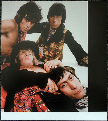 The Rolling Stones Poster Page 1968 Keith Charlie Bill & Brian Jones . Y24