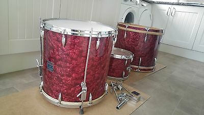 1950's ajax drum kit boosey and hawkes of london
