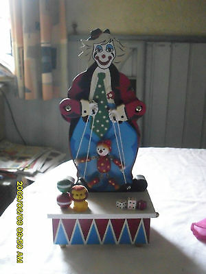 "Spieluhr  "" Clown """