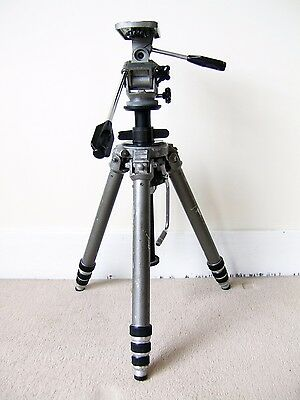 Gitzo Tripod with Pan and Tilt Head and Manfrotto Case