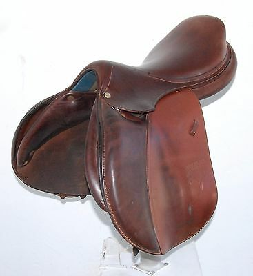"""17.5"""" Voltaire Palm Beach Saddle (So9961) Very Good Condition!! - Dwc"""