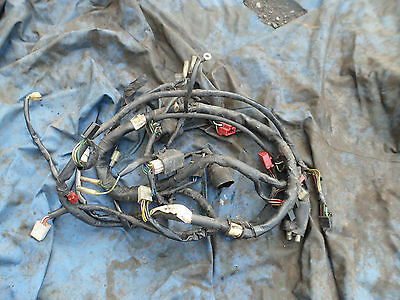 Wiring harness loom for a CBX 750