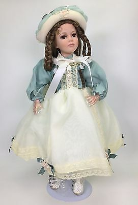 Amanda Collection Victorian Doll Porcelain Used