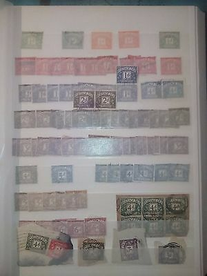 gb stamps postage dues