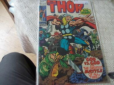Thor 177.Marvel 70s issue