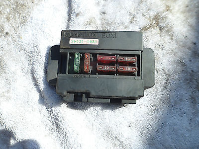 Fuse junction box for a ZXR 750 J L or M ZX7R