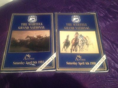 1994 1998 Grand National Race Cards Minnehoma Earth Summit