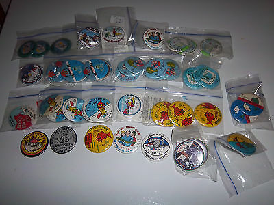 Tip Up Town Badge Houghton Lake 50 badge lot collection