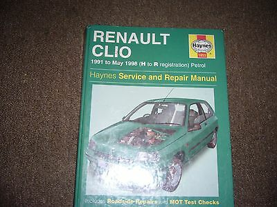 Haynes Renault Clio 1991 to May 1998 Service & Repair Manual 1853