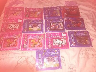 kids watch and wallet sets X 13