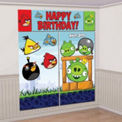 Angry Birds Birthday Party Scene Setters Party Decorations