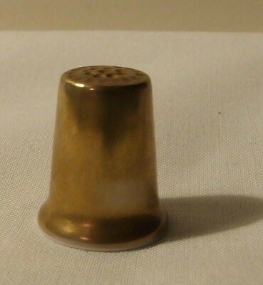 Sutherland China Gold Thimble Collectable