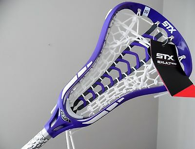 New Womens Lacrosse Stick STX Exult 500 Head with STX FLX Shaft Girls Launch Pkt