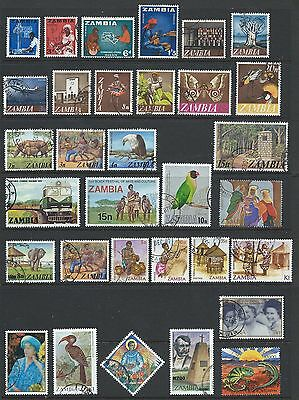 Zambia Used Stamps