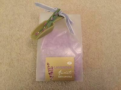 Boots Lavender Aromiatic Bath Crystals ...lovely gift set BNIP