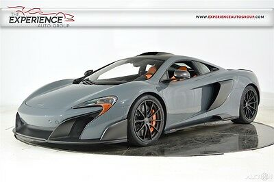 2016 McLaren Other 675LT MSO Carbon Fiber Roof Scoop Upgrade Lifter Meridian Surround Camera Forged RARE