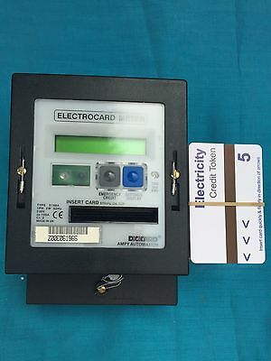 Card Meter Electric Ampy Prepayment With 250 Cards
