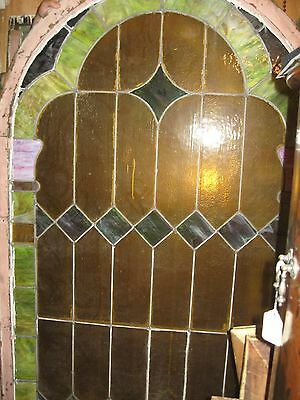 Antique stained glass church  windows