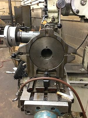 "Yuasa 9"" Super Accu-Dex Indexer Rotary Table Type Model 550"