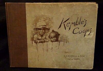 Vintage First Edition 1896 Kemble's Coons  by Edward Kemble Hard Cover Very Rare