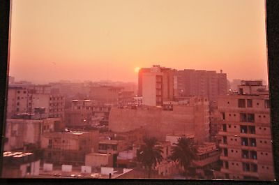 Early Iraq War Photograph 5 X 7 Original 'sunrise From A Building Baghdad'
