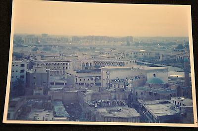 Early Iraq War Photograph 5 X 7 Original 'government District Baghdad Pic #2'