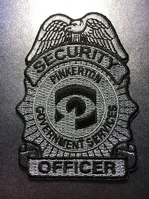 Pinkerton Government Services Security Officer Police Patch