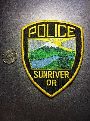 Sunriver Oregon Police Department Patch Or