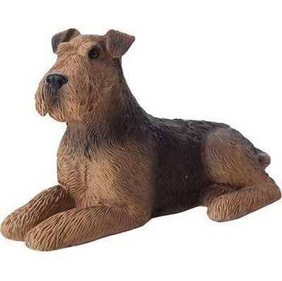 Airedale Figurine Hand Painted – Sandicast