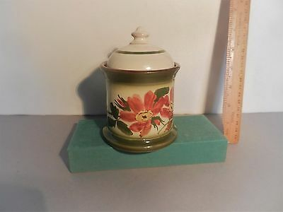 Longpark Tobacco jar with lid