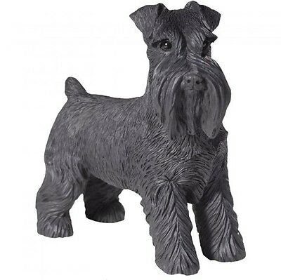 Schnauzer Figurine Hand Painted Uncropped – Sandicast