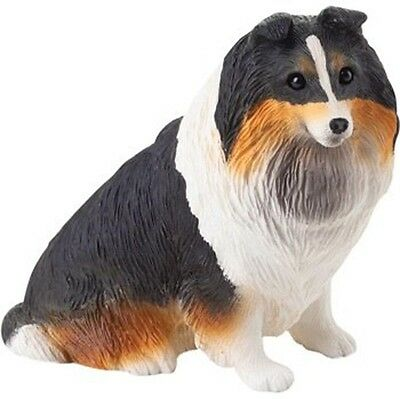 Sheltie Figurine Hand Painted Tri – Sandicast