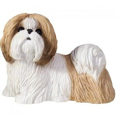 Shih Tzu Figurine Hand Painted Gold – Sandicast