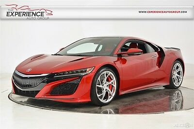 2017 Acura NSX  Carbon Ceramic Brakes Carbon Fiber Exterior Roof Engine Cover Pearl Technology