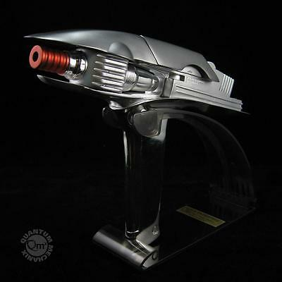 QMx STAR TREK Into Darkness - PHASER Replica + Display Stand - used