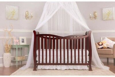 New Dream On Me Violet 7-in-1 Convertible Life Style Crib, Espresso