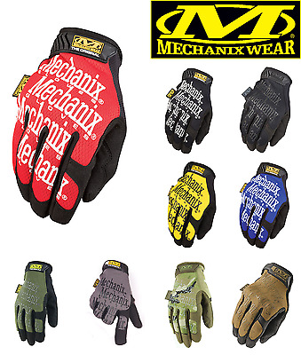 Mechanix Tactical Gloves Military Work Race Sports Game Paintball mechanic army