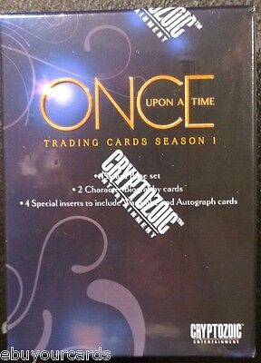 Disney Once Upon a Time Sealed Box Autograph Costume Wardrobe Prop Trading Card