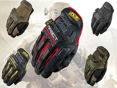 Mechanix M-PACT Tactical Gloves Military Work Race Sport Paintball Army Mechanic