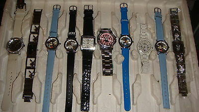TRADE ONLY JOB LOT OF 10 X  MIXED PROTOTYPE  WATCHES 100% gen ,,