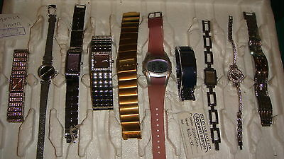 TRADE ONLY JOB LOT OF 10 X  MIXED PROTOTYPE  WATCHES 100% gen,, ,,