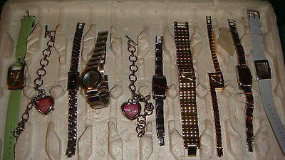 TRADE ONLY JOB LOT OF 10 X  MIXED PROTOTYPE  WATCHES 100% gen,, ,,,