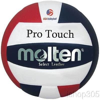 Molten V58L-3 Pro Touch USAV Official NFSH Competition Approved Volleyball