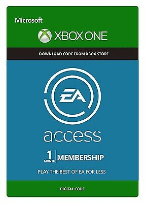 1 Month EA Access XBOX INSTANT DELIVERY
